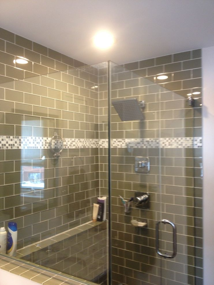 Lowes Milford Ct   Modern Spaces Also Frameless Shower Door Glass Shower Glass Tile Lowes