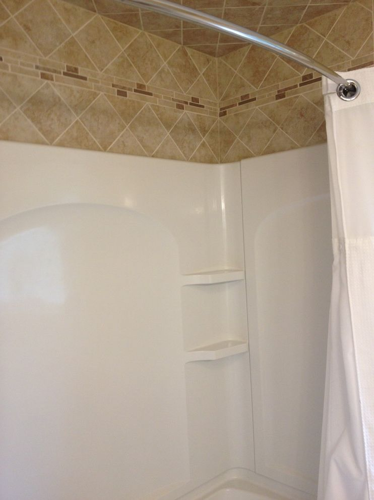 Lowes Milford Ct    Spaces Also Bathroom Remodel Diagnol Patter Lowes Tile Wall Surround