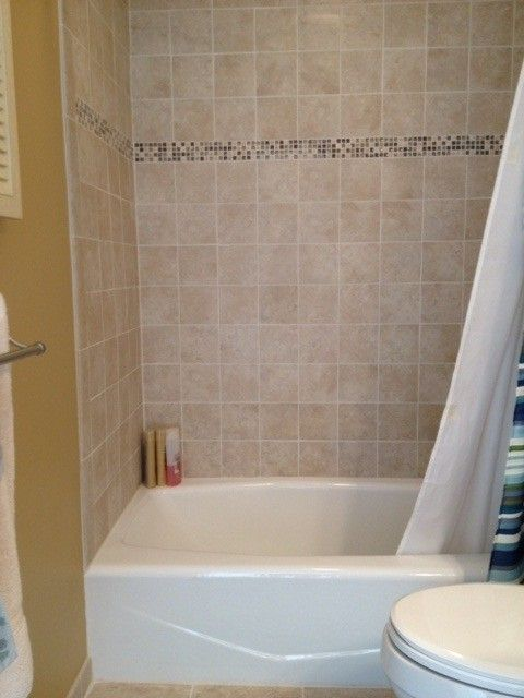 Lowes Milford Ct   Traditional Spaces  and Ballantyne Vanity Bath Tub Glass Mosaics Lowes Tile Pattern