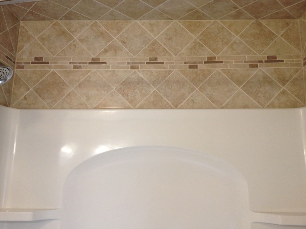 Lowes Milford Ct with  Spaces Also Bathroom Remodel Diagnol Patter Lowes Tile Wall Surround