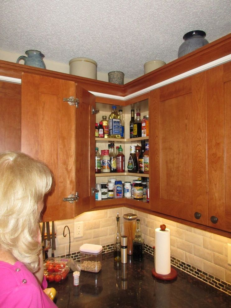 Lowes Pensacola   Transitional Spaces  and Akbd Bill Hart Cabinets Cherry Lowes Pecan Schuler White Chocolate
