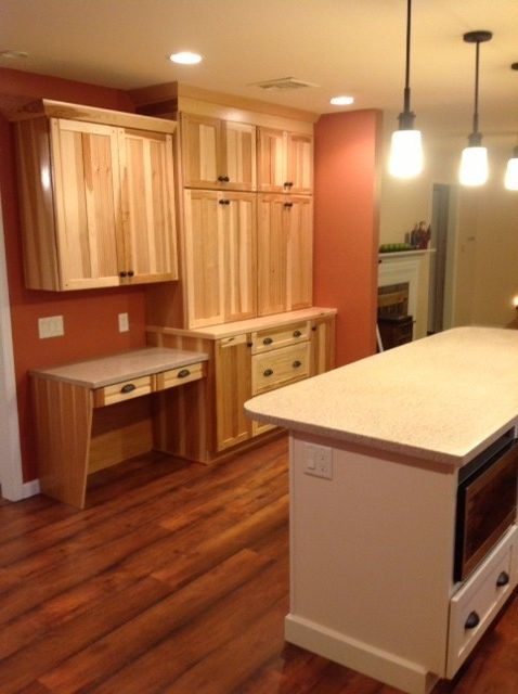 Lowes Reading Pa   Traditional Kitchen Also Flooring Hickory Kitchen
