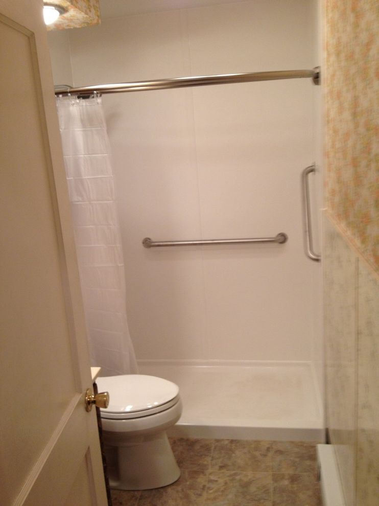 Lowes Reading Pa with Traditional Bathroom  and Ada Shower