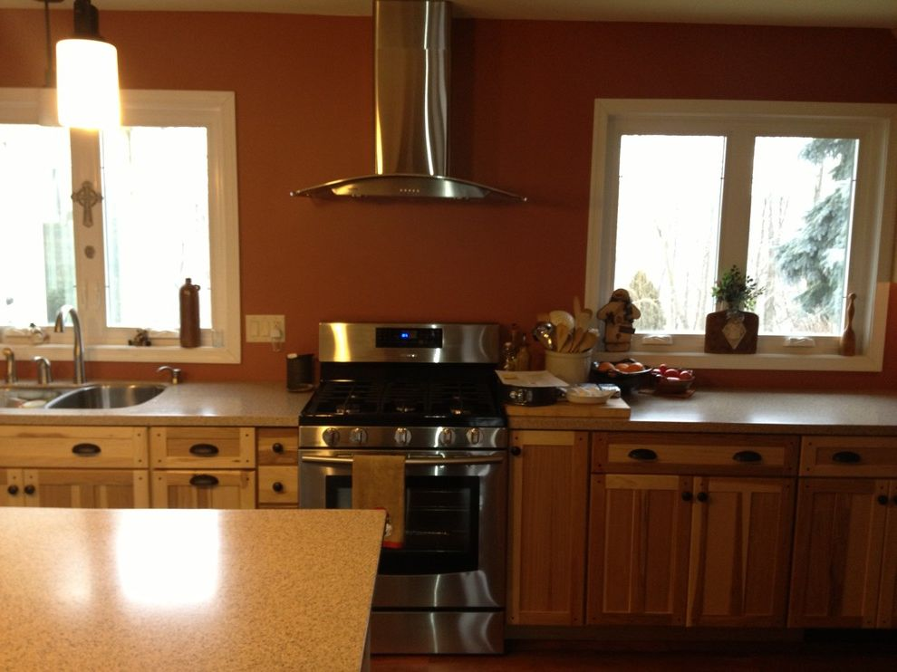 Lowes Reading Pa with Traditional Kitchen Also Flooring Hickory Kitchen