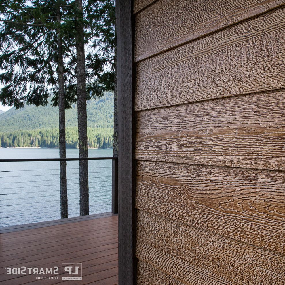 Lp Smart Siding with Rustic Spaces  and Clapboard Siding Engineered Wood Lap Siding Louisiana Pacific Lp Lp Building Products Lp Smartside Siding Smartside