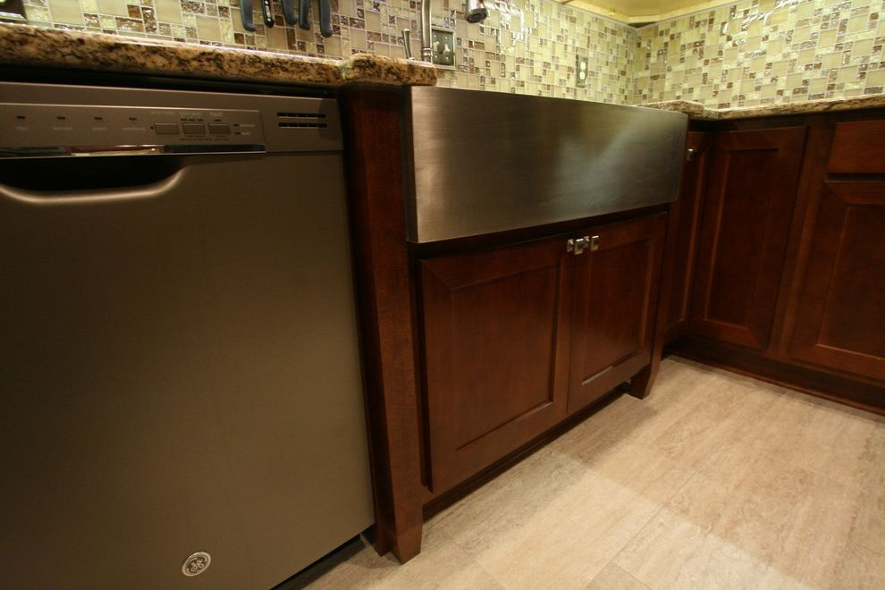 Martins Appliance   Contemporary Kitchen  and Apron Front Sink Farm Sink Farmhouse Sink Stainless Stainless Farm Sink Stainless Farmers Sink
