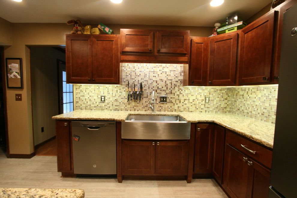 Martins Appliance with Contemporary Kitchen Also Apron Front Sink Before and After Before and After Photos Farm Sink Farmhouse Sink Stainless Stainless Farm Sink Stainless Farmers Sink
