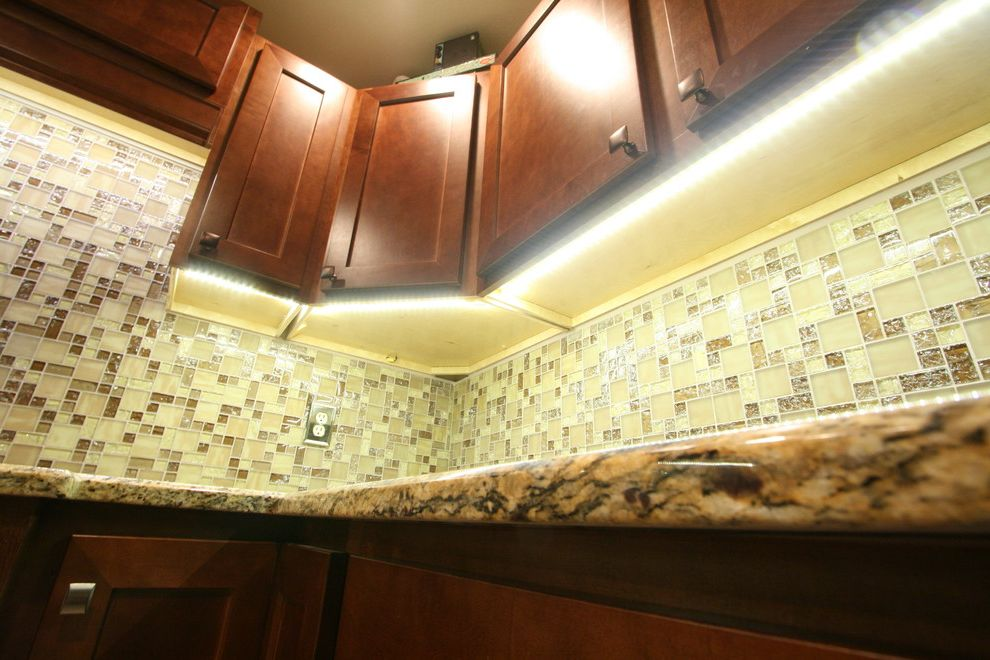 Martins Appliance with Contemporary Kitchen  and Led Lights Led Tape Lighting Undercabinet Lighting