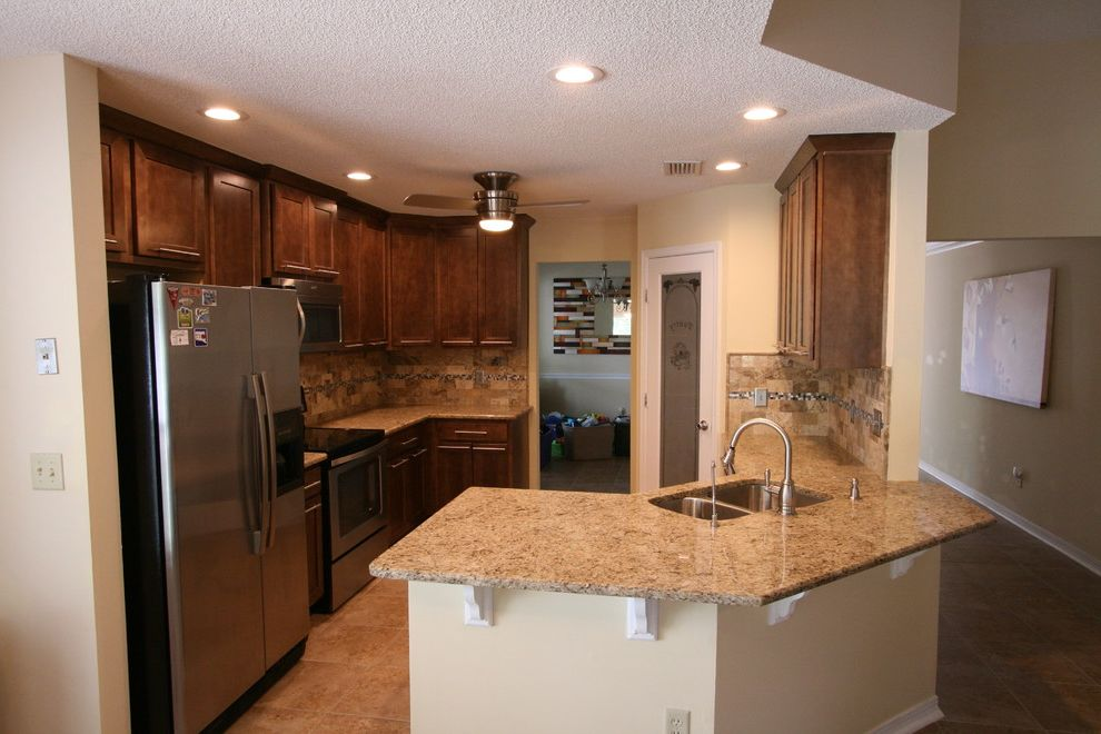 Martins Appliance with Transitional Kitchen  and Before and After Photos Before and Afters Shaker Style