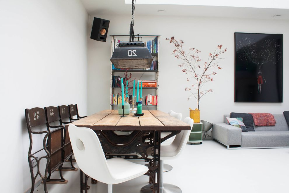 Omega Cinema Props with Eclectic Dining Room  and My Houzz