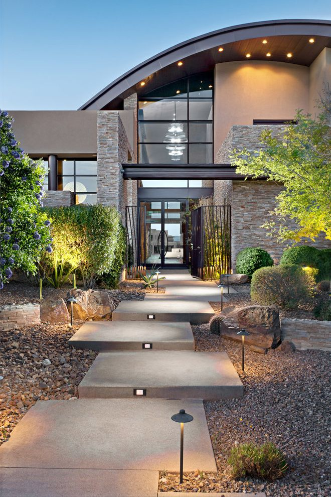 Ryland Homes Las Vegas with Contemporary Landscape  and Contemporary
