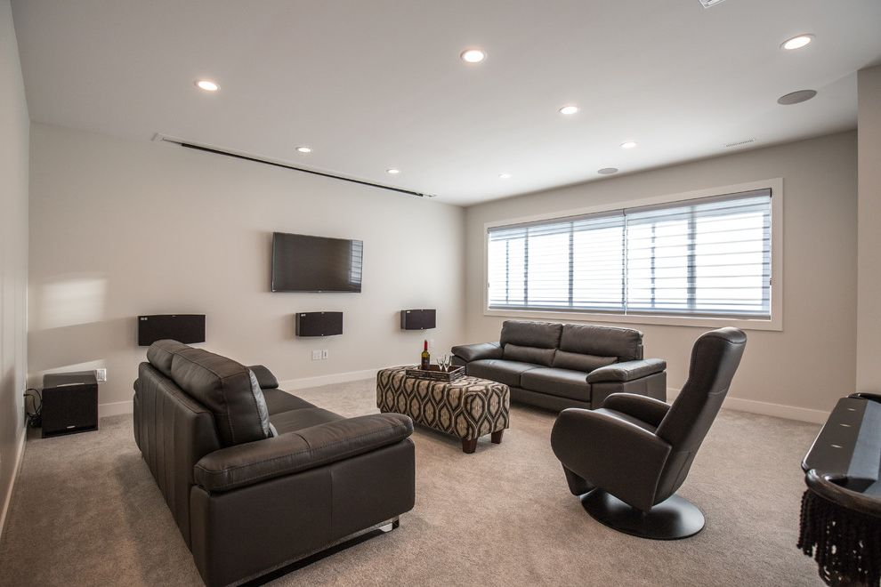 Stonecrest Theater   Contemporary Home Theater Also Contemporary