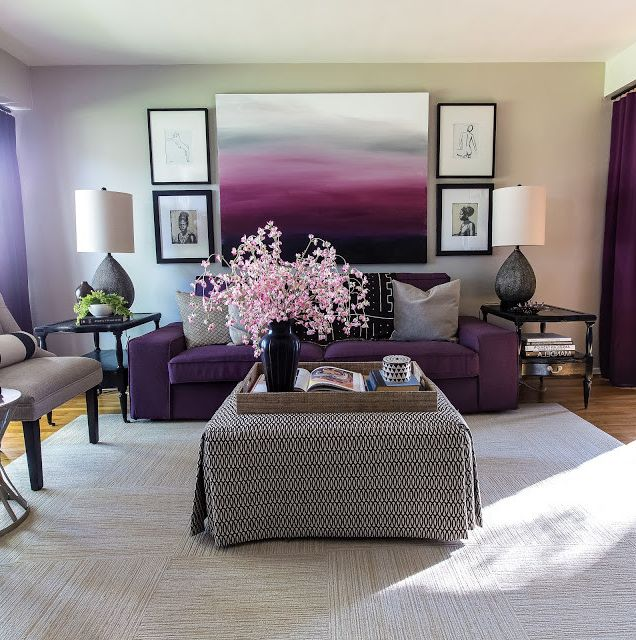 Terrarium Definition   Eclectic Living Room Also Abstract Art Accent Chairs Benjamin Moore Gallery Wall Ikea Industrial Table Lamps Living Room Purple Purple Drapes Silhouttes Storage Ottoman Vintage and Modern Violet
