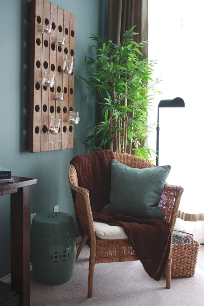 Terrarium Definition with Eclectic Bedroom Also Bamboo Candle Holder Candles Chinese Garden Stool Curtains Drapes Floor Lamp Magazine Storage Teal Wall Votive Wall Decor Wicker Basket Wicker Furniture