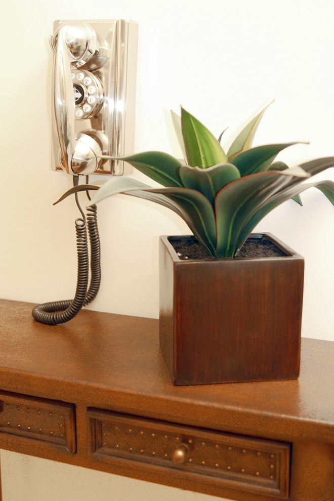 Terrarium Definition with Eclectic Hall Also Chrome Phone Container Plants Potted Plants Side Table Wall Mounted Phone