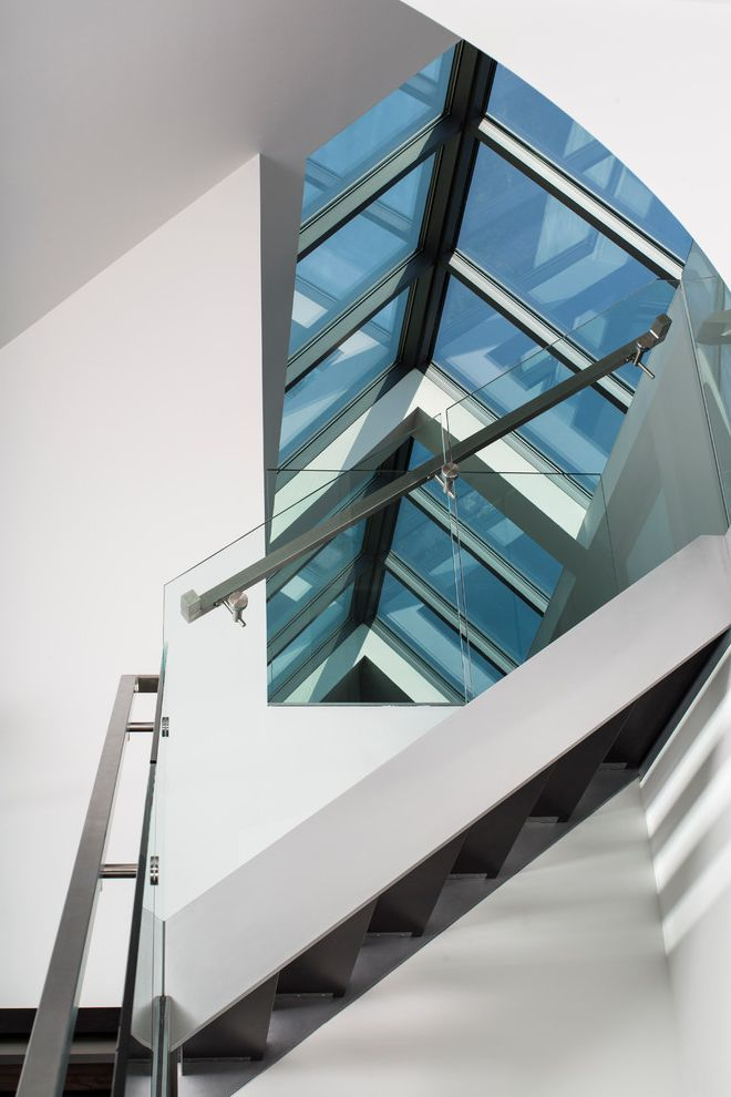 Wasco Skylights   Modern Staircase  and Broadwater Ii Arnold Maryland Skylights Wasco