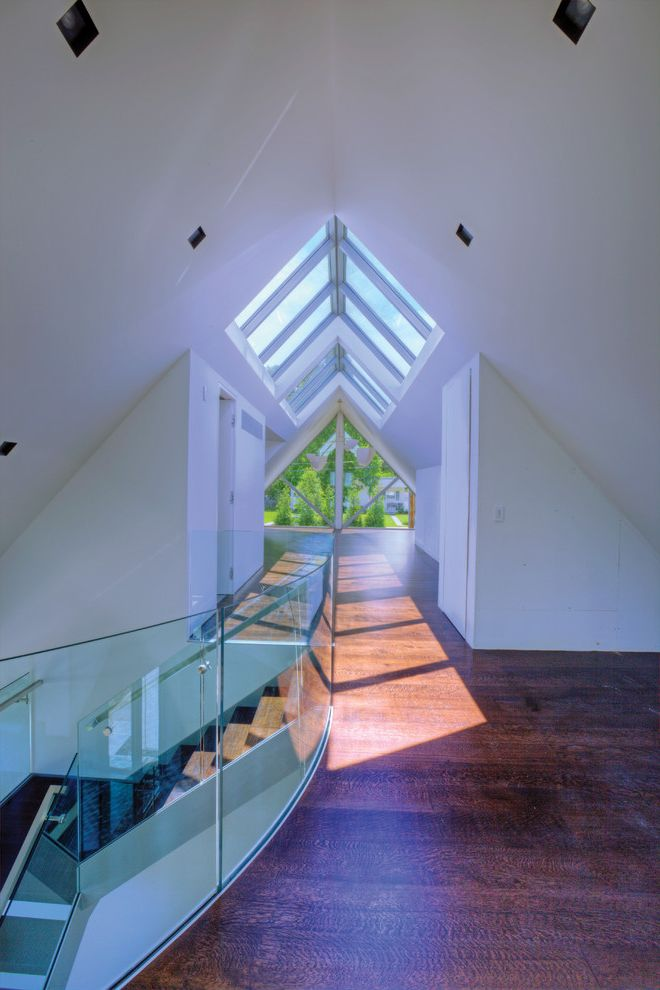 Wasco Skylights with Rustic Hall  and Rustic