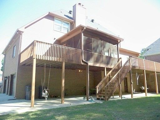 Alabama Rental Managers    Spaces Also Deck Outdoor Swing Screened Porch