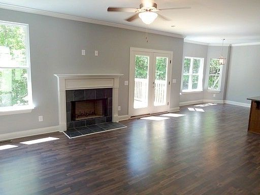 Alabama Rental Managers with Traditional Spaces  and Grey Walls Hardwood Flooring New Construction Open Floor Plan