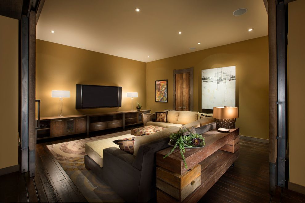 Crestwood Theatre with Traditional Home Theater Also Traditional