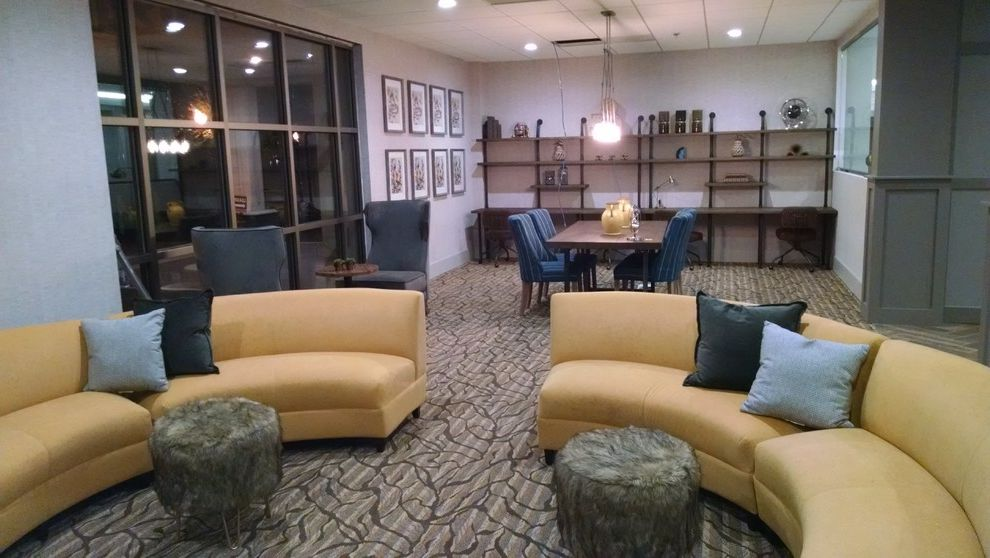 Fairways at Towson with Modern Spaces  and Pillow Design Residental Condo Sofa Design Furniture Lounge Sofas Sofas Corner Sofas