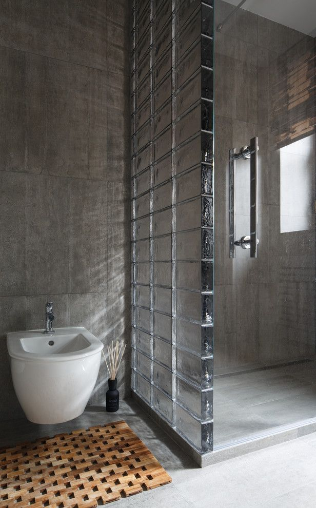 Lee Brick and Block with Contemporary Bathroom Also Contemporary