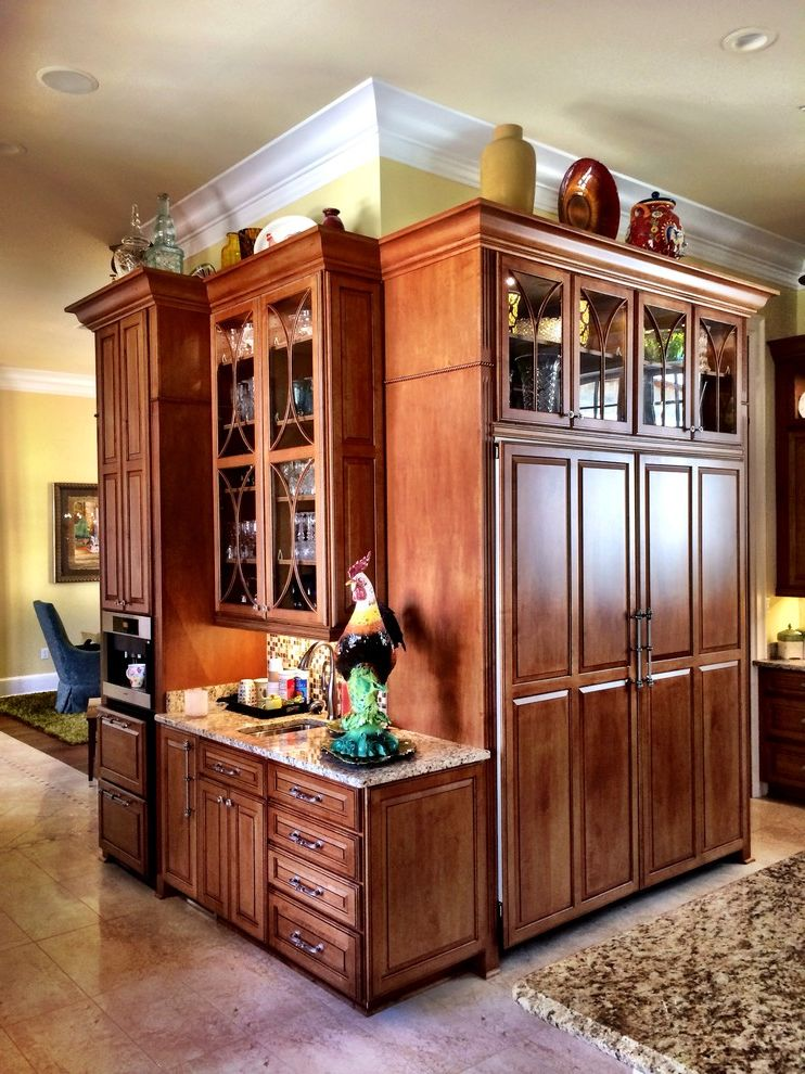 Lowes Hattiesburg Ms   Traditional Kitchen Also Built in Freezer Built in Refrigerator Cabinet Design Cabinets Classic Design Coffee Station Kitchen Kitchen Design Schuler Cabinetry Traditional Kitchen