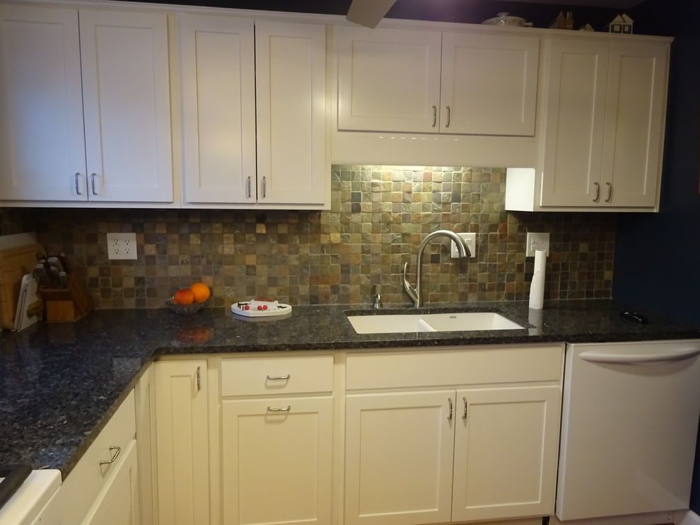 Lowes Peoria Il with Beach Style Kitchen  and Blue Pearl Diamond Prelude Il Lowes Lowes of Peoria Slate White Woodhall