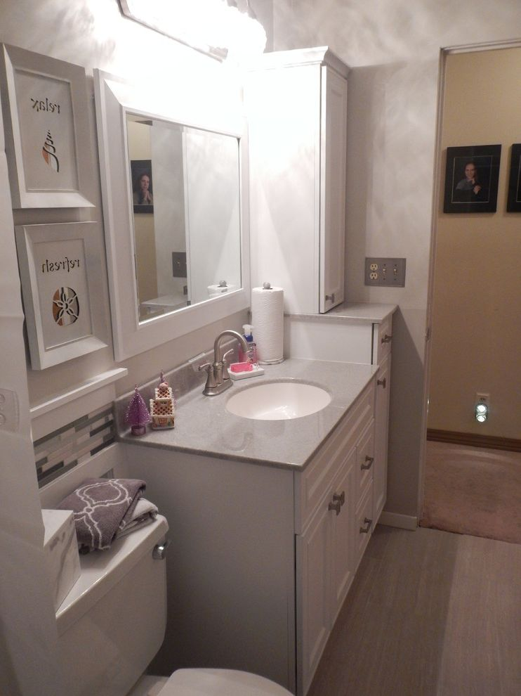 Lowes Peoria Il with Transitional Bathroom Also Corner Seat Il Leonia Silver Lowes Lowes of Peoria Mist Onyx Patti Yost