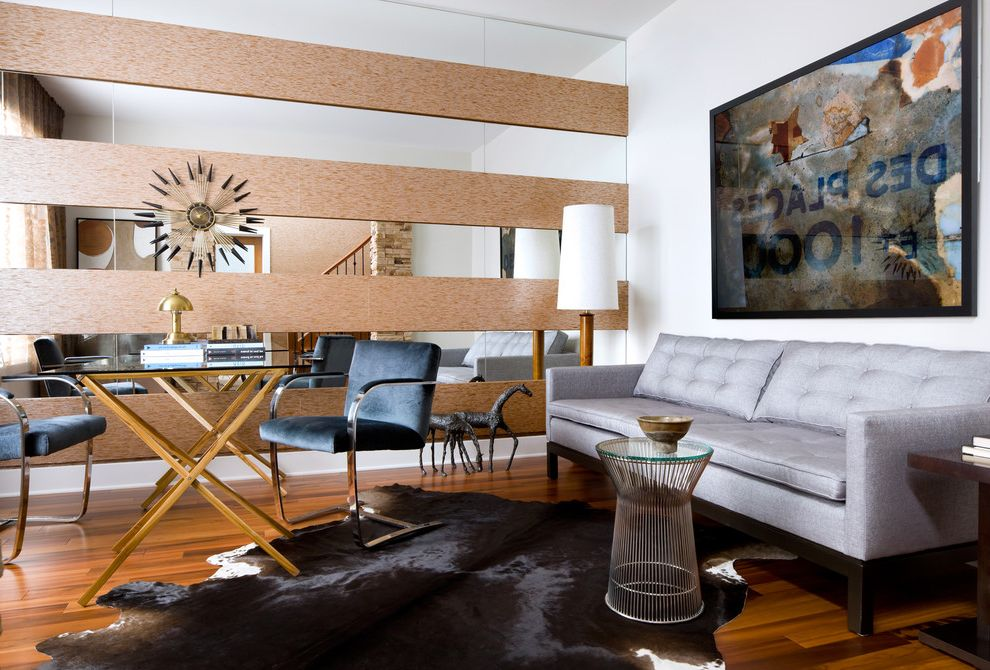 Mirror Mirror on the Wall Quote with Modern Living Room Also Accent Wall Chair Cork Grey Sofa Mirror Sofa Table Wallpaper Wood Floor