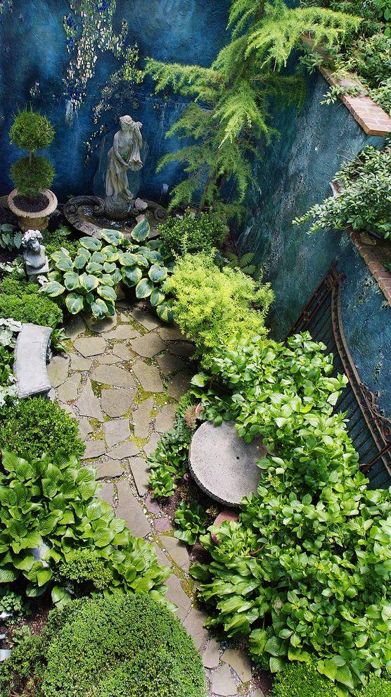 Moody Yard Sales with Traditional Landscape Also Aerial View Fence Flagstone Garden Sculpture Hidden Garden Pavers Pennsylvania Plants Secret Garden Topiary
