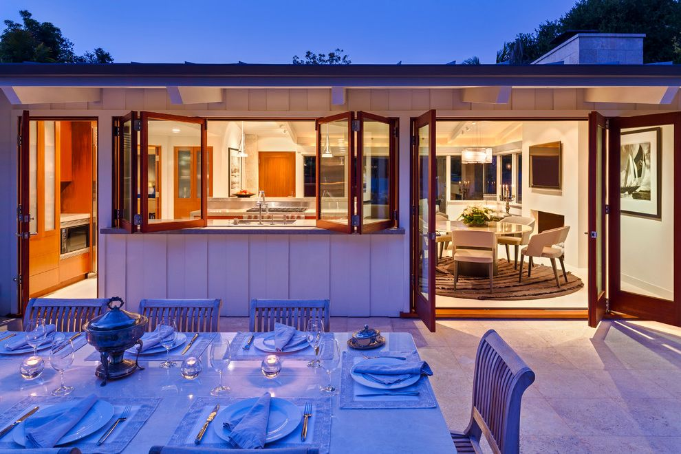 Sliding Window Air Conditioner with Midcentury Patio Also Bifold Windows Midcentury Outdoor Dining Patio Doors Patio Furniture Ranch Santa Barbara Table Setting