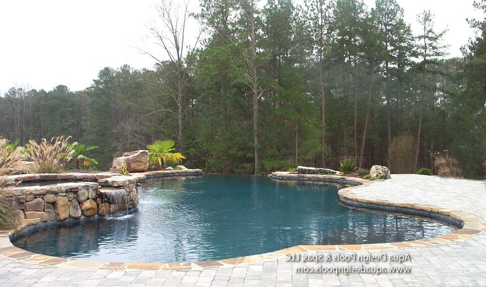 Spas in Atlanta   Craftsman Pool Also Atlanta Pool Builder Atlanta Pool Designer Atlanta Pools Ga Pool Builder Georgia Pool Builder Infinity Edge Infinity Edge Pool Unique Pool