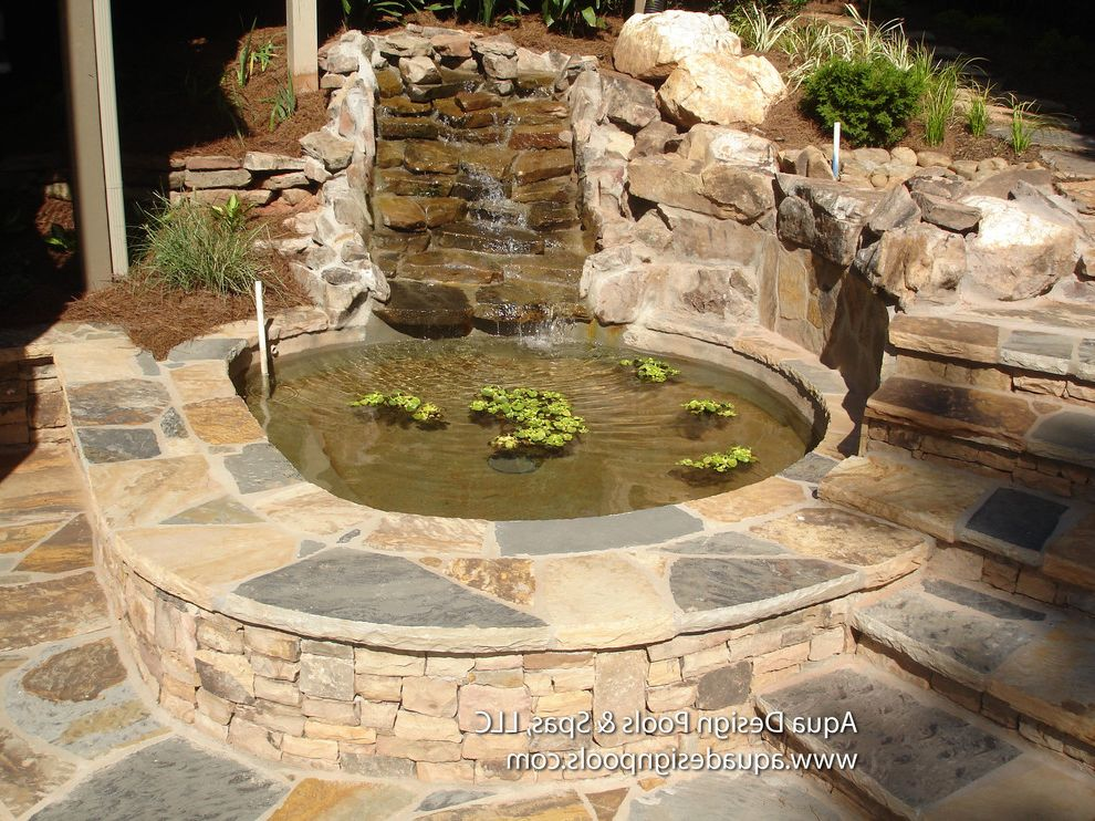 Spas in Atlanta with Craftsman Patio Also Atlanta Pool Builders Atlanta Pools Beautiful Pools Ga Pools Georgia Pools Pond Pool with Waterfalls Waterfall