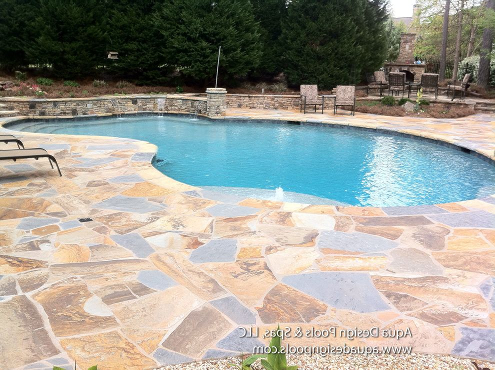 Spas in Atlanta with Craftsman Pool Also Atlanta Pool Builders Atlanta Pools Beautiful Pools Ga Pools Georgia Pools Pond Pool with Waterfalls Waterfall