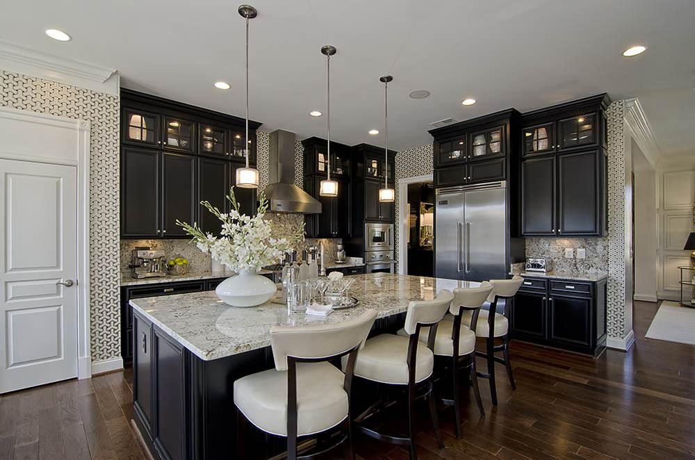Bianco Romano Granite Traditional Kitchen Stanley Martin