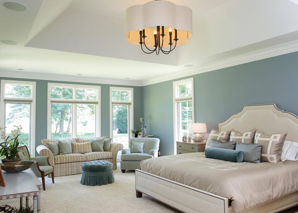 Best paint color for bedroom Traditional Bedroom accent pillow area rug bed frame bedding bedside tables bedspread