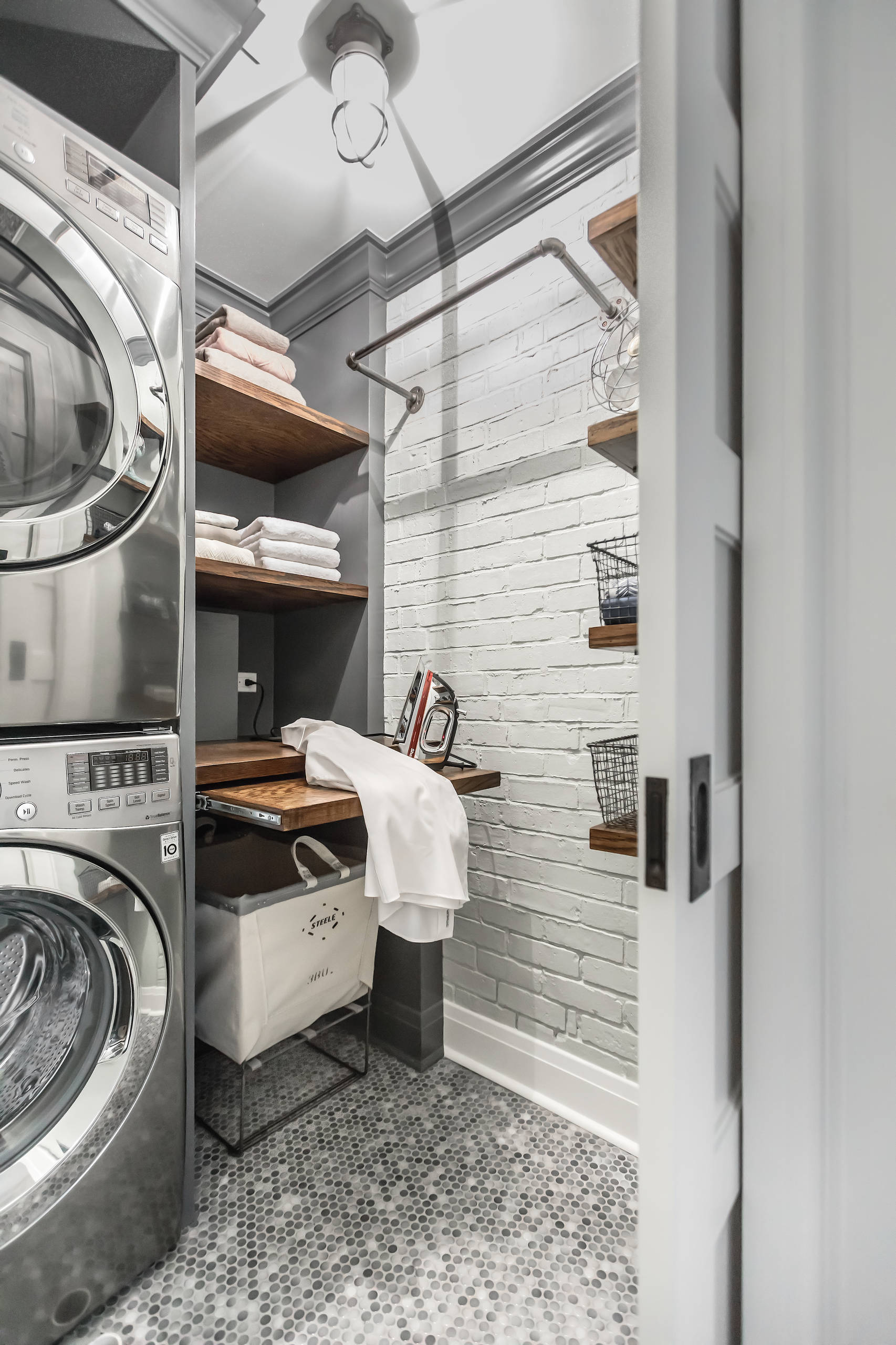 Washer without agitator pros and cons Industrial Laundry Room backpack boot storage cushion cover dark grey painted cabinets front load washer dryer grey cabinets